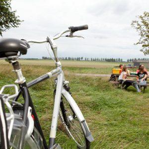 tip 1- buitendijks fietsen